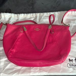 Coach Pink Crossbody Bag